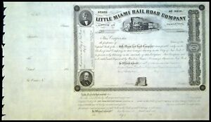 LITTLE MIAMI Rail Road Company CINCINNATI