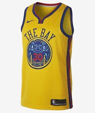 """Nike NBA Golden State Warriors """"CURRY"""" City JERSEY 52 Xtra Large 912101 728"""