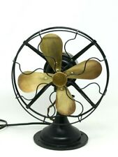 Antique Western Electric Desk Fan ~ Iron and Brass ~ Runs Good, Great Condition
