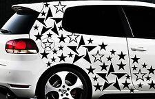 93-teiliges Sterne Star Auto Aufkleber Set Sticker Tuning WANDTATTOO Blumen xx