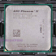 AMD Phenom II X2 555 HDZ555WFK2DGM CPU Processor 2000 MHz 3.2 GHz Socket AM3