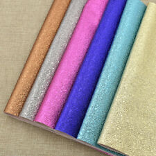 A4 Sheet Faux Leather Embossed Stone Leather For Sewing Making Bows Accessories