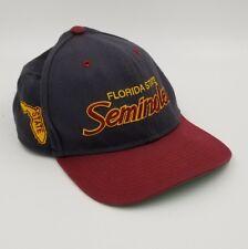 27db3f681c03a Rare Vintage 90s Florida Seminoles FSU Nike Snapback Hat Cap Script Swoosh