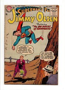 Superman's Pal Jimmy Olsen #6 VINTAGE DC Comic 100 Pieces of Kryptonite Gold 10c