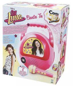 CANTA TU SOY LUNA Karaoke CTY00000 giochi preziosi -nuovo-Italia