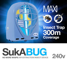 Insect Killer, Bug Zapper, Mosquito, Fly trap SUK A BUG MAXI RRP $150 BLUE