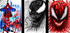 Venom Carnage Lot Spiderman 11 x 17 (3) High Quality Posters