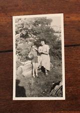 Photo famille Vintage snapshot 1952 Massif de Sainte Baume Provence