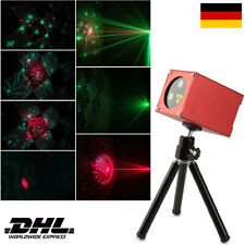 Muster Bühnenlicht Laser Projektor Disco Musikbox Bluetooth Lautsprecher USB Rot