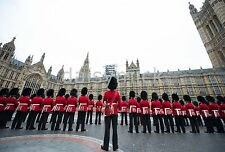 Irish Guards & Band of The Regiment & Corps of Drums House of Lords 12x8 Photo