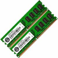 Memory Ram 4 Asus Barebones Desktop V4-P5G43 V6-P5G31E V-M3A3200 2x Lot
