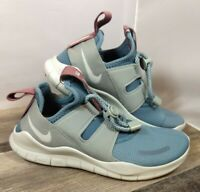 New Nike Free Run Womens Sz 5 Athletic Running Shoes AA1621 Blue/Grey