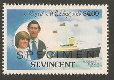 St Vincent and Grenadines Royalty Stamps
