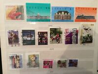 CANADA Lot of 49 high value recent era mixture Stamps grizzly included