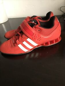 Adidas Red Athletic Shoes adidas