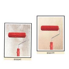 2 UNIDS / SET 7 pulgadas piel de cocodrilo en relieve + piedra pintura