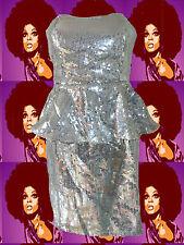 Vintage-Kleider für Damen aus Polyester mit Disco
