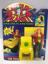 Tiger Toys Vintage Captain Planet Wheeler With Tread Pack Figure New Sealed