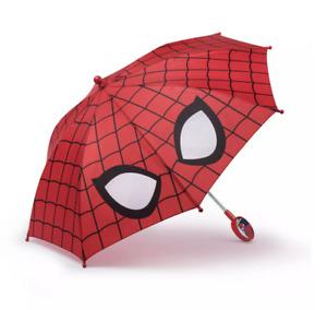 Spiderman Marvel Avengers Little Kids Umbrella Rain Sun Toddler Baby Toy Gift