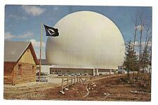 EARTH STATION BELL SYSTEM'S  Air Inflated Satellites Andover  MAINE ME Postcard