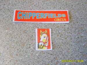 CORGI MAJOR 1130 CHIPPERFIELDS  BEDFORD LORRY HORSE BOX  STICKER SET NEW