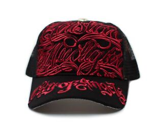 Christian Audigier COA Hat Embroidered Cap Unisex Truckers City of Angeles