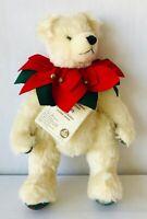 Hermann Old Christmas Mohair Teddy Bear LE 954/2000 All Tags Jointed Germany