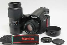 MINT Mamiya 645 AFD II + 2 Lens set AF 80mm,Zoom 105-210mm 120 Back from JP #790