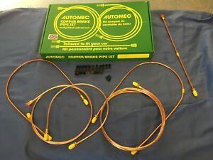 AUSTIN HEALEY SPRITE MG MIDGET DISC COPPER BRAKE PIPE KIT 1964- 1974 GB5032 rhd