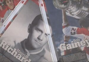 2008-09 MONTREAL CANADIENS PHOTO CENTENNIAL 100 th NHL THE HOCKEY NEWS SEE LIST