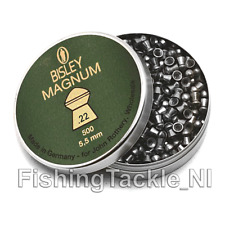 Bisley Magnum .22 / 5.5mm Heavy Accurate Target/Hunting Pellets - 200 per Tin