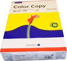 200g/qm Druckerpapier Kopierpapier A4 hochweiß (250 Blatt)