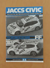 RC Tamiya Manual Honda JACCS Civic 58133 new 1994