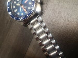 22mm strap Stainless Steel Bracelet Watch Strap For seiko turtle diver watch