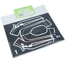 Xtra Speed Carbon Design Sanwa MT-S Radio Sticker Black RC Cars Drift #XS-59104