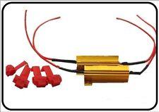 Resistenza Lampada LED 50W 6 Ohm No Spia Intermittenza per auto, moto e altro