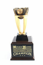 FANTASY BASEBALL TROPHY 6 YEAR TOWER! FREE ENGRAVING! SHIPS IN 1 DAY!