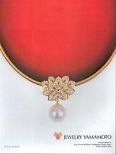 ▬► PUBLICITE ADVERTISING AD JEWERLY YAMAMOTO Bijoux 1991