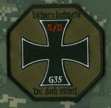 GERMAN LUFTWAFFE PILOT FLYSUIT vel©®⚙ INSIGNIA: SQN G-35 S/D LUCHTERS LUFTWAFFE
