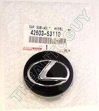 GENUINE LEXUS FACTORY IS F GS RX LS F SPORT 60MM BLACK CENTER CAPS 42603-53110