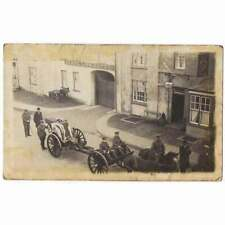 More details for lampeter military funeral procession passing black lion hotel rp postcard unused