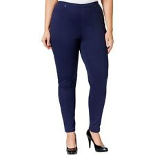 Style & Co. Women's Pull-On Twill Leggings Size 1X Retail