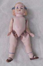 ANTIQUE GERMAN BISQUE BABY GIRL DOLL