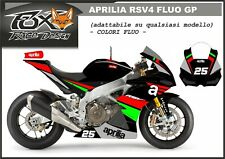 ADESIVI stickers moto KIT per APRILIA RSV4 fluo GP