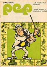 PEP 1972  nr. 29 - NILSSON / TIES KRUIZE / MACARONI'S (COVER)
