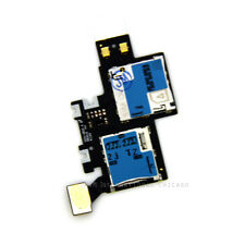 Samsung Galaxy Note 2  i605 Verizon Sim Card Tray Holder Memory Slot Flex Cable