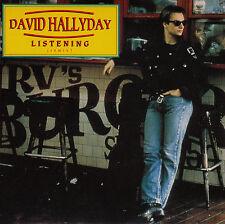 45TRS VINYL 7''/ FRENCH SP DAVID HALLYDAY / LISTENING / NEUF / MINT