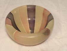 Small Art Deco Style Stone Bowl