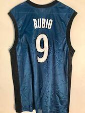 Adidas NBA Jersey Minnesota Timberwolves Ricky Rubio Blue sz M