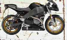 Buell Firebolt XB12R 2004 Aged Vintage SIGN A3 LARGE Retro